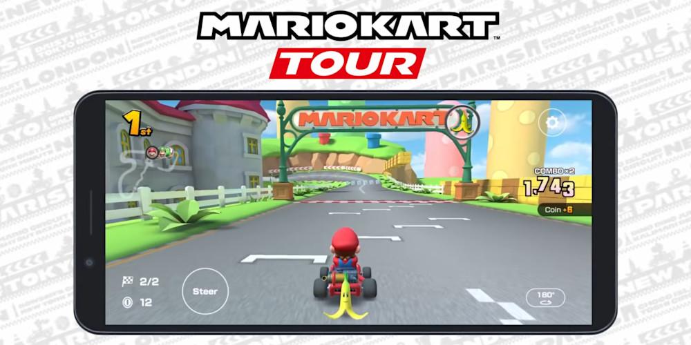 Mario Kart Tour - Querformat