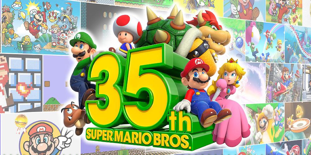 Super Mario Bros. 35th Anniversary Direct – Logo