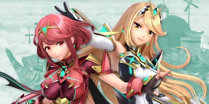 Newsbild zu Pyra und Mythra aus Xenoblade Chronicles 2 schließen sich der Kämpferriege von Super Smash Bros. Ultimate an