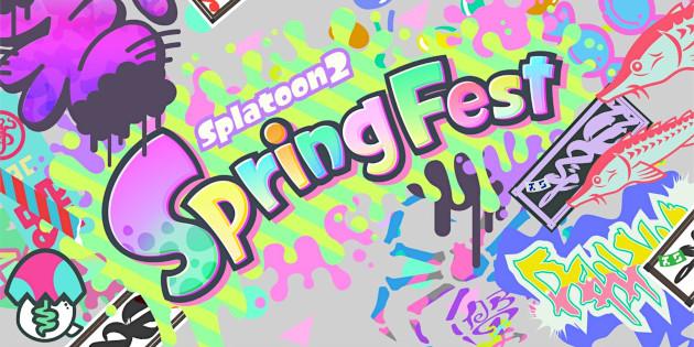 Newsbild zu Erinnerung: Das Spring Fest in Splatoon 2 beginnt um 16 Uhr