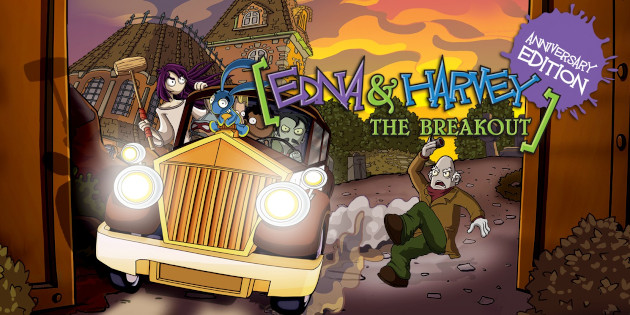 Newsbild zu Edna & Harvey: The Breakout – Anniversary Edition erscheint verspätet im Juni für die Nintendo Switch