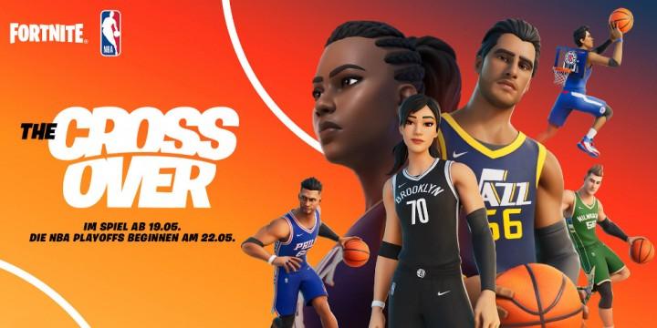 Newsbild zu Fortnite x NBA: The Crossover – Zahlreiche Basketball-Elemente und fünftätiger Wettbewerb ab 22. Mai