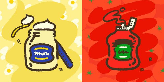"""Newsbild zu Das Splatfest-Ergebnis """"Mayo gegen Ketchup"""" steht fest"""