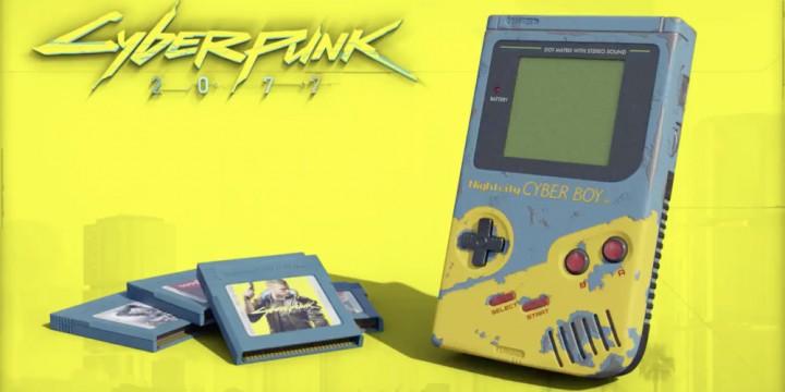 Newsbild zu Vergangenheit trifft Zukunft – Künstler erstellt einen Game Boy im Design von Cyberpunk 2077