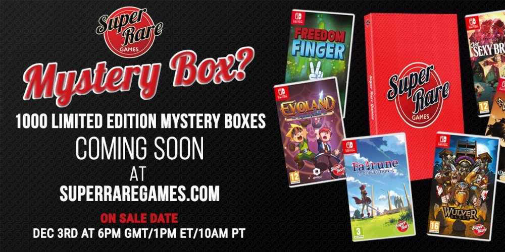 Super Rare Games - Mystery Box 2020