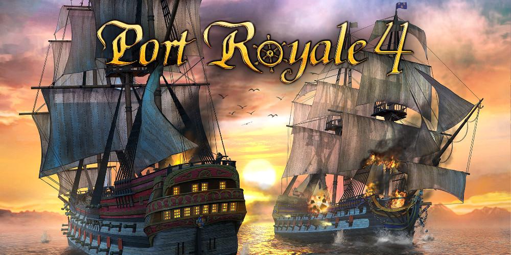 Port Royale 4 - Keyart