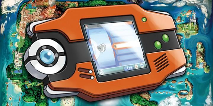Newsbild zu Fan baut ikonischen Pokédex aus Pokémon Omega Rubin und Alpha Saphir nach
