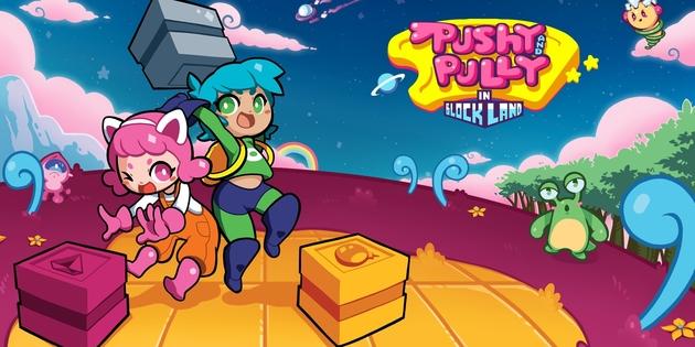 Newsbild zu Blöcke-Abenteuer Pushy and Pully in Blockland ab sofort für Nintendo Switch verfügbar