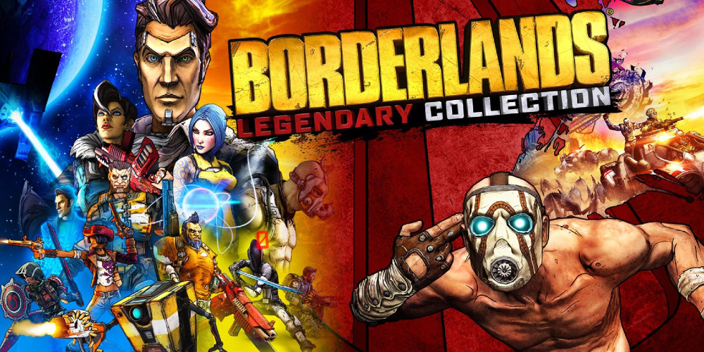 Borderlands Legendary Collection - Keyart