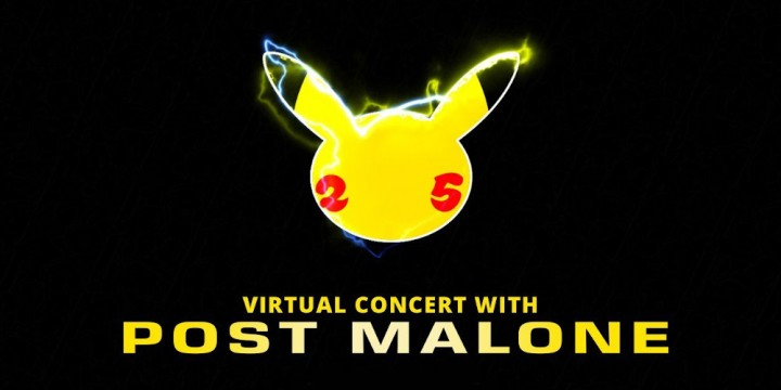 Newsbild zu Erinnerung: Das virtuelle Konzert mit Post Malone zum 25. Pokémon-Jubiläum beginnt um 00:55 Uhr