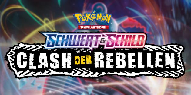 """Newsbild zu Pokémon TCG: Die zweite Erweiterung """"Pokémon Schwert & Schild – Clash der Rebellen"""" bringt demnächst Unruhe in das Sammelkartenspiel"""