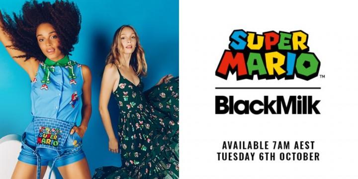 Newsbild zu Super Mario zum Anziehen – BlackMilk Clothing kündigt offiziell die Kollaboration mit Nintendo für Anfang Oktober an
