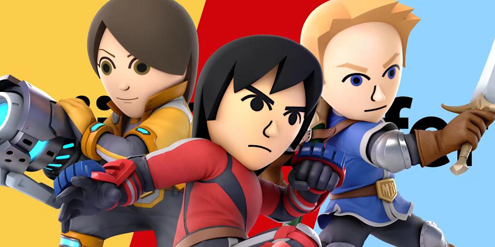 Super Smash Bros. Ultimate - Mii-Kämpfer