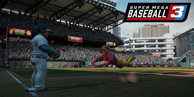Newsbild zu Super Mega Baseball 3 erscheint Mitte Mai für Nintendo Switch