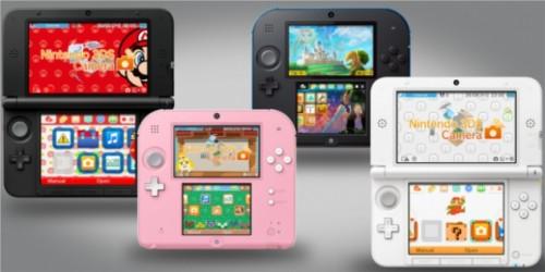 Newsbild zu Neue klassische 3DS Home-Menü-Designs in Japan