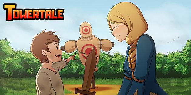 Newsbild zu Erobert den Turm: Towertale erscheint im April für die Nintendo Switch