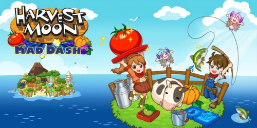 Newsbild zu Nintendo Switch-Spieletest: Harvest Moon Mad Dash