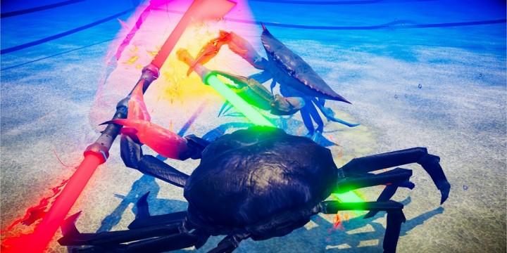Newsbild zu Zwei Tierwelten prallen aufeinander – Fight Crab kollaboriert mit DEEEER Simulator und erhält entsprechenden DLC
