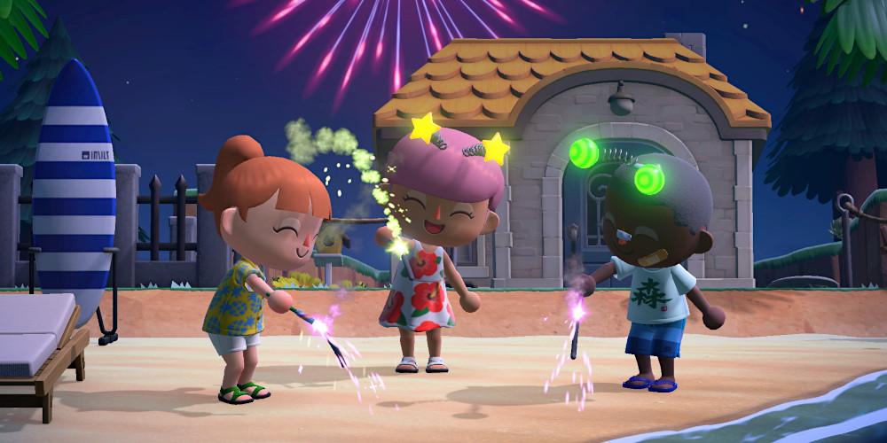 Animal Crossing: New Horizons - Feuerwerksaison