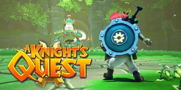 Newsbild zu A Knight's Quest – Action-Adventure nach alter Manier für diesen Herbst angekündigt