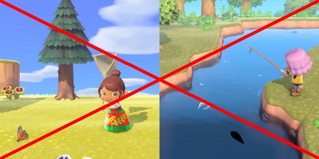 Newsbild zu Animal Crossing: New Horizons – PETA empfiehlt, keine Fische und Insekten zu fangen