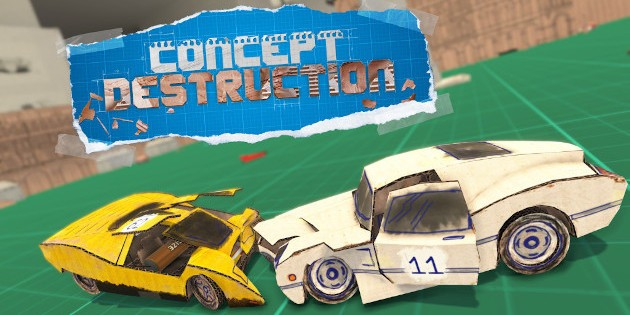Newsbild zu Fun-Racer Concept Destruction landet Ende Mai auf Nintendo Switch