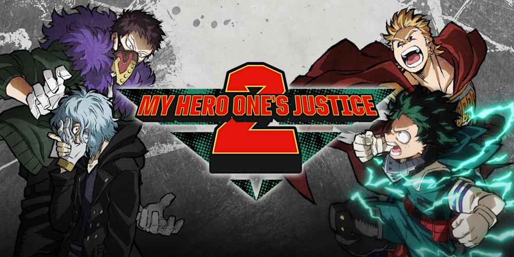 My Hero One's Justice 2 - Keyart