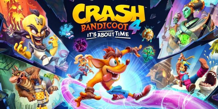 Newsbild zu Live gezockt Crash Bandicoot 4: It's About Time: Ein durchgeknallter Sprung durch die Dimensionen!