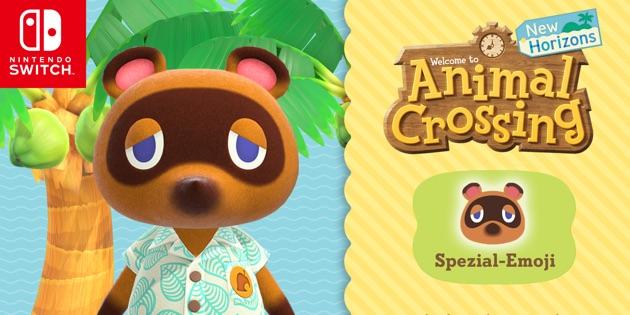 Newsbild zu Animal Crossing: New Horizons – Tom Nook macht Twitter als Spezial-Emoji unsicher
