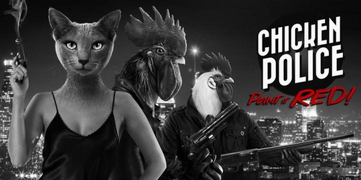 Newsbild zu Die Hühner sind los: Chicken Police – Paint it RED wird ab Anfang November veröffentlicht