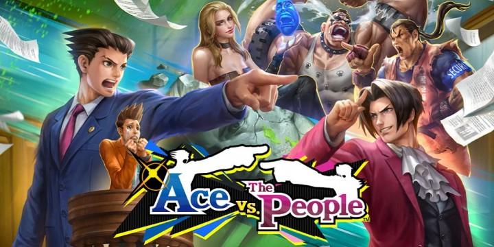 Newsbild zu Ace Attorney x Teppen: Löst mit Phoenix Wright & Co. in Ace vs. The People für Mobile-Devices einen spannenden Fall