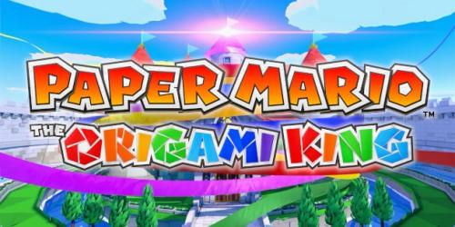 Newsbild zu Paper Mario: The Origami King in der Vorschau – Mario dreht am Rad