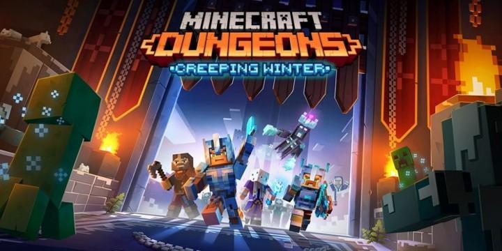 Newsbild zu gamescom 2020 // Gameplay-Video zu Minecraft Dungeons zeigt den Creeping Winter-DLC