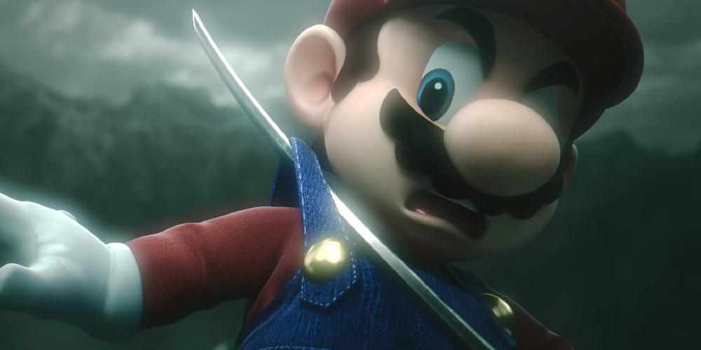 Super Smash Bros. Ultimate Sephiroth Mario