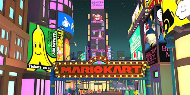 Newsbild zu Video: New York bereitet sich auf Mario Kart Tour vor