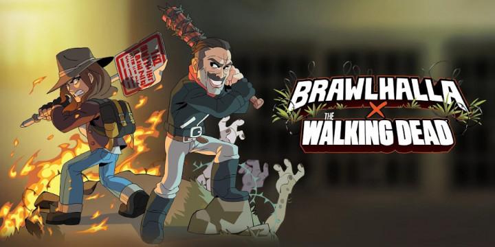 Newsbild zu Maggie und Negan aus The Walking Dead treffen in Brawlhalla schon bald auf ihre Serienkollegen
