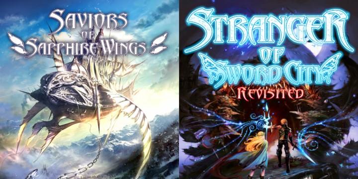 Newsbild zu Saviors of Sapphire Wings für die Nintendo Switch angekündigt – Enthält Stranger of Sword City Revisited