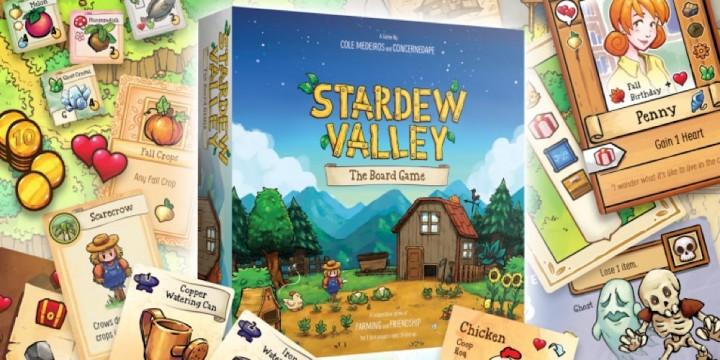 Newsbild zu Genießt immer und überall das Farmleben: Brettspiel-Umsetzung zu Stardew Valley angekündigt