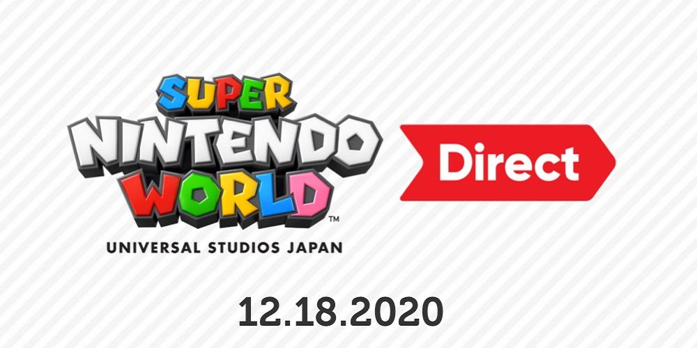 Super Nintendo World Direct