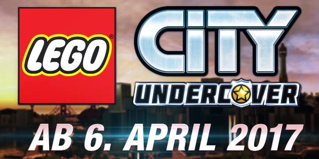 Schaut euch den LEGO City Undercover - Fahrzeugtrailer an