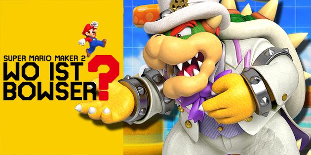 Newsbild zu Wo ist Bowser? – Bombastische Dünen Lite: Ein kleines Update zu unserer interaktiven Super Mario Maker 2-Story