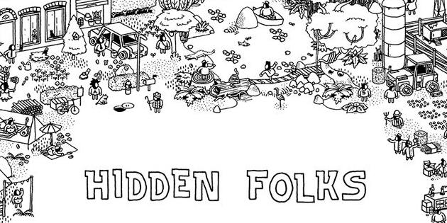 Newsbild zu Update mit Zusatzinhalten für das Puzzle-Spiel Hidden Folks angekündigt