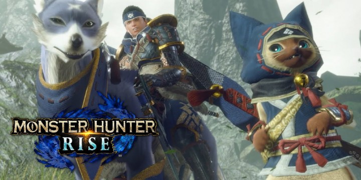 Newsbild zu Monster Hunter Rise: Capcom veröffentlicht Smartphone-Wallpaper im Design der Palicos und Palamutes