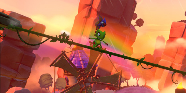 Newsbild zu Nintendo Switch-Spieletest: Yooka-Laylee and the Impossible Lair
