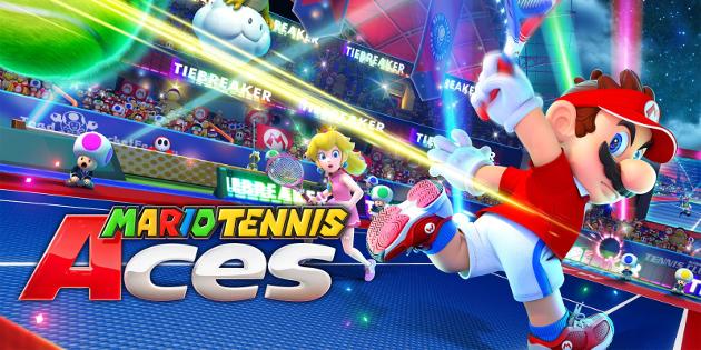 Newsbild zu Mario Tennis Aces: Profi-Sportler und andere Prominente tragen ein Online-Turnier für den guten Zweck aus