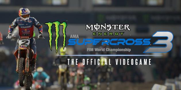 Newsbild zu Trailer zu Monster Energy Supercross: The Official Videogame 3 zeigen Fahrerinnen und Koop-Möglichkeiten