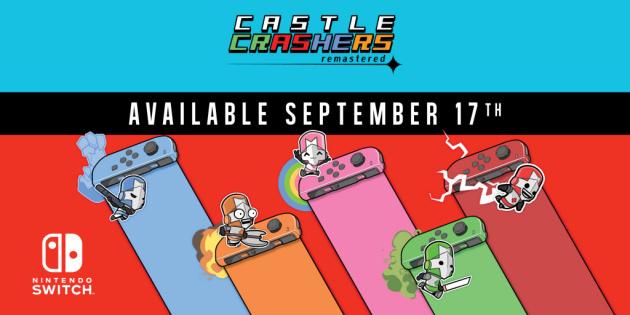 Newsbild zu Castle Crashers Remastered bringt euch diesen Monat chaotische Gefechte auf die Nintendo Switch