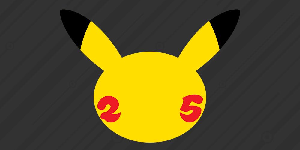 Pokémon - 25. Jubiläum