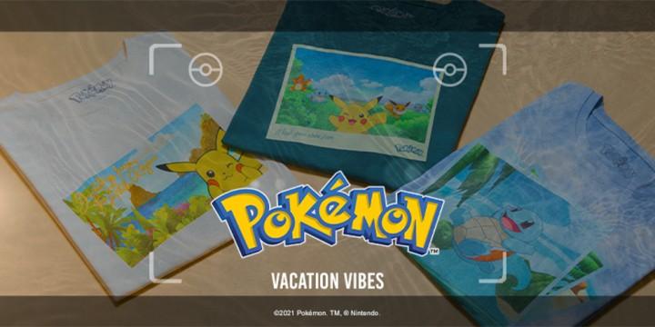 Newsbild zu Pokémon Vacation Vibes bei Zavvi – Sichert euch exklusives Merchandise zu New Pokémon Snap