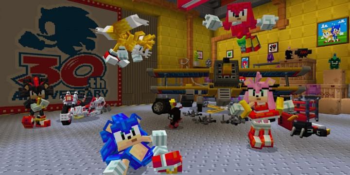 Newsbild zu Sonic the Hedgehog-DLC ab sofort für Minecraft erhältlich